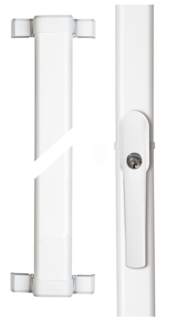 ABUS FOS550 + FOS550A - Set tyčí 1,18 + 1,18 bílý