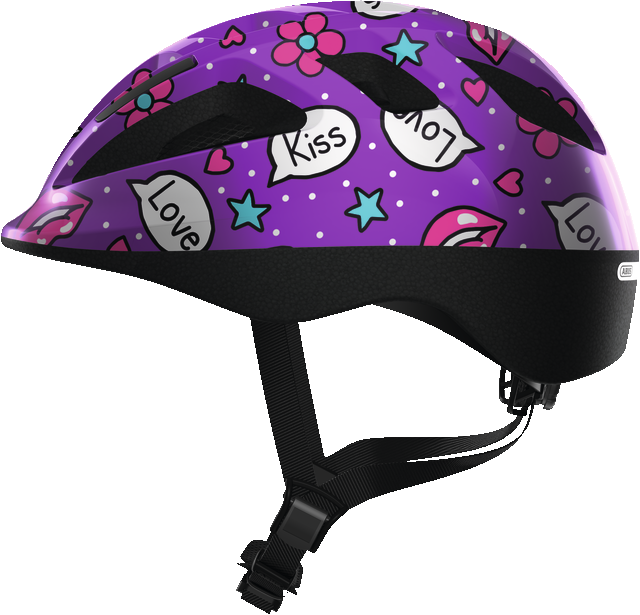 ABUS Smooty 2.0 purple kisses - Smooty 2.0 purple kisses S