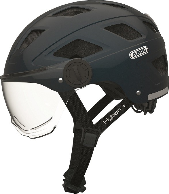 Hyban+ midnight blue (clear visor) - Hyban+ midnight blue (clear visor) L