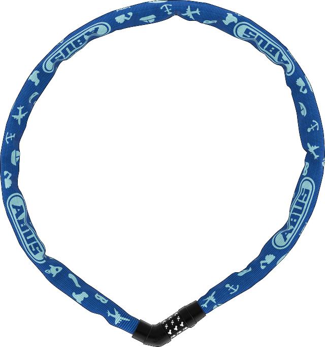 4804C/75 blue SYMBOLS Steel-O-Chain