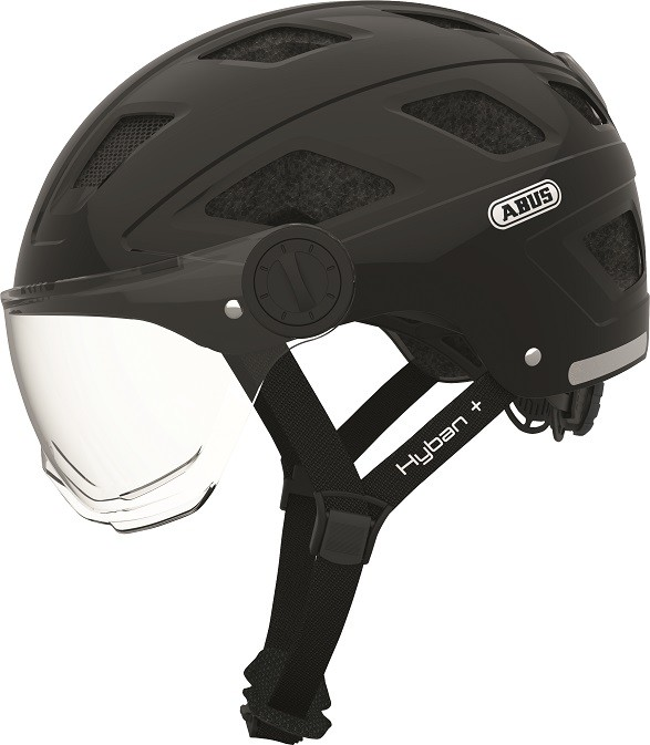 Hyban+ black (clear visor) - Hyban+ black (clear visor) M