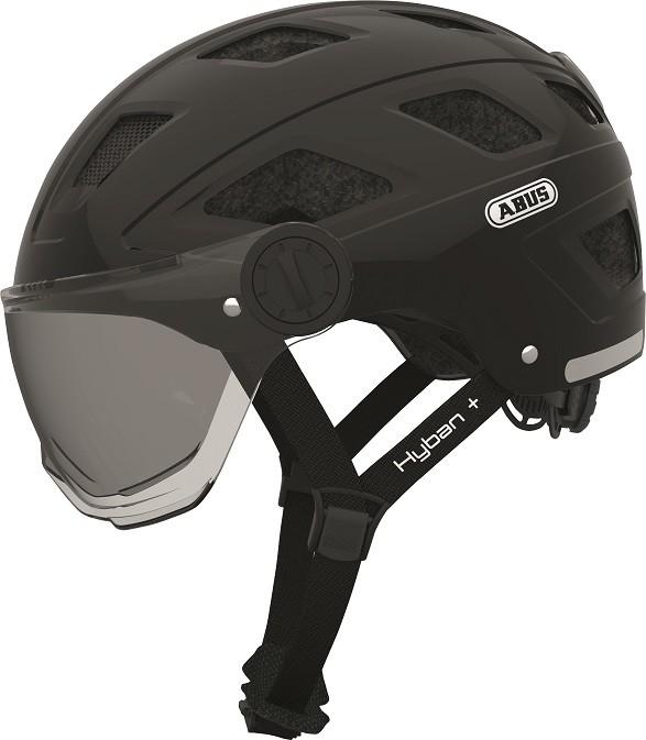 Hyban+ black (smoke visor) - Hyban+ black (smoke visor) L