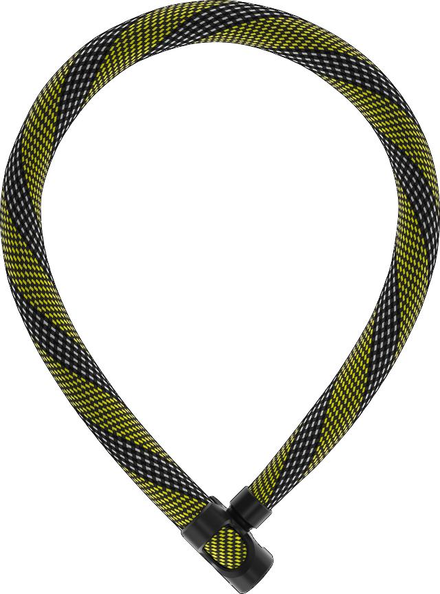 ABUS 7210/85 racing yellow IvyTex